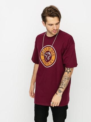 Brixton Forte Stt T-shirt (burgundy)