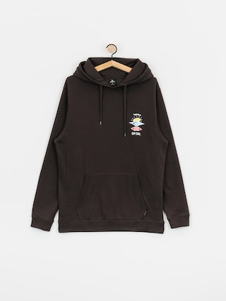 Rip Curl Search Icon HD Hoodie (washed black)