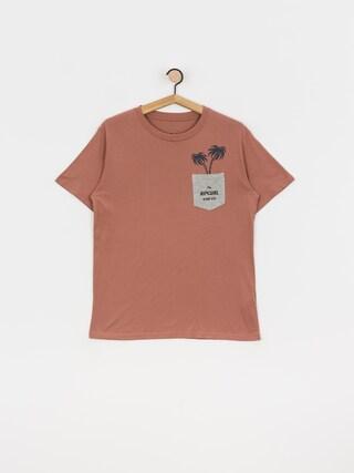 Rip Curl In Da Pocket T-shirt (mushroom)