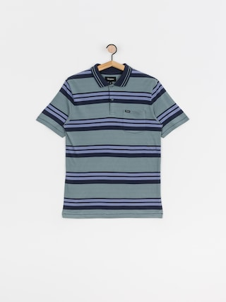 Brixton Hilt Polo t-shirt (twilight blue/washed navy)
