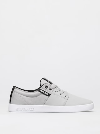 Supra Stacks II Shoes (lt grey tuf white)
