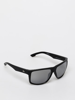 Quiksilver Transmission Sunglasses (matte black/flash si)