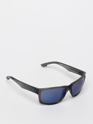 Quiksilver Trailway Sunglasses (shiny cr sm/fl b)
