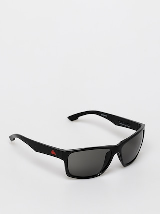 Quiksilver Trailway Sunglasses (shiny black/grey)
