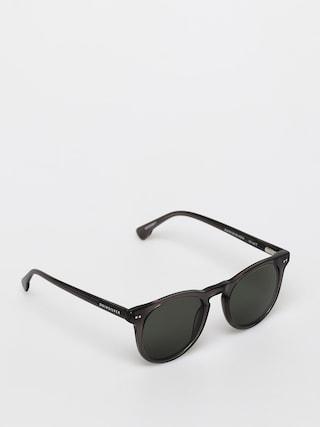 Quiksilver Jericho Sunglasses (shi crystl smke/gree)