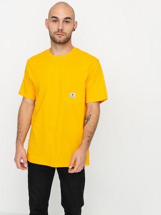 Element Basic Pocket Label T-shirt (gold)