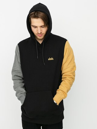 Elade Colour Block HD Hoodie (black/grey/beige)