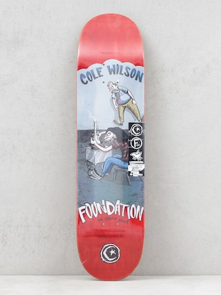 Foundation Wilson Student Deck (red)