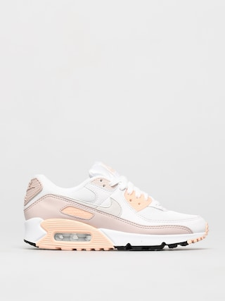 Nike Air Max 90 Shoes Wmn (white/platinum tint barely rose)