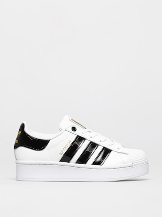 adidas Originals Superstar Bold Shoes Wmn (ftwwht/cblack/goldmt)