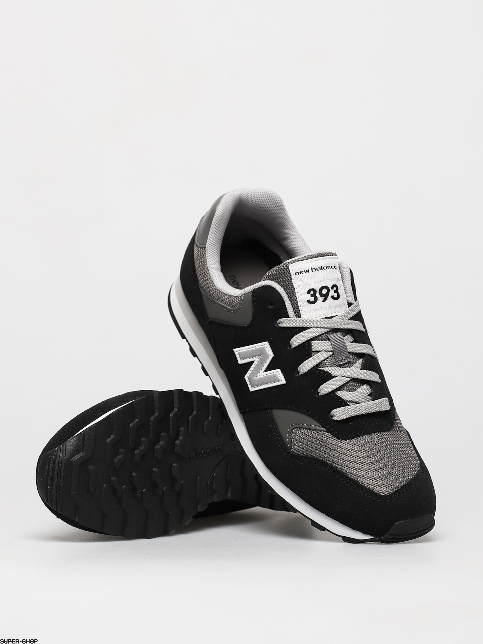 New Balance 393 Shoes (black)