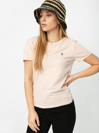 Volcom Stoked On Stone T-shirt Wmn (hazey pink)