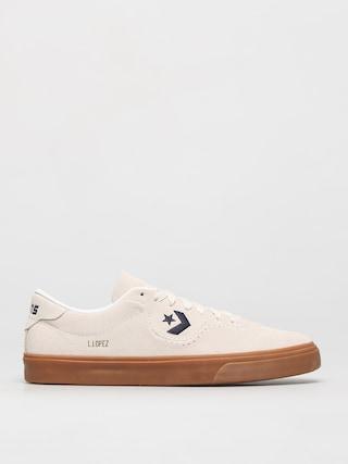 Converse Louie Lopez Pro Ox Shoes (egret/obsidian/gum)