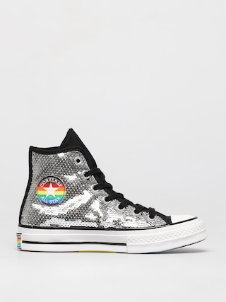 Converse Chuck 70 Hi Chucks (white/black/university red)