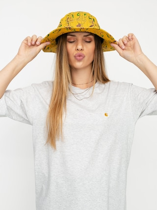 Carhartt WIP Chasy T-shirt Wmn (ash heather/gold)