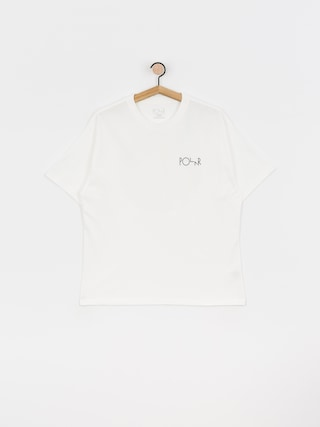 Polar Skate Memory Palace Fill Logo T-shirt (white)