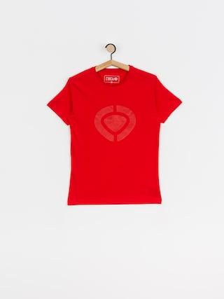 Circa Icon Tone On Tone T-shirt (red)