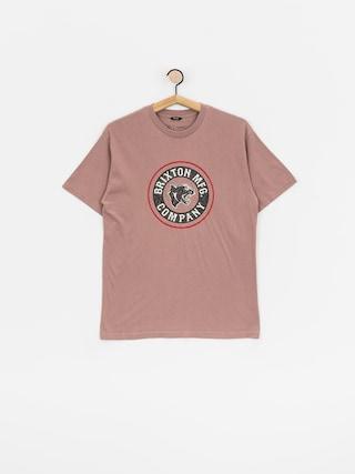 Brixton Forte Stt T-shirt (mauve)