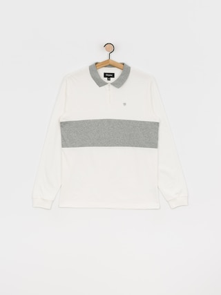 Brixton Hunt Ls Polo t-shirt (off white)
