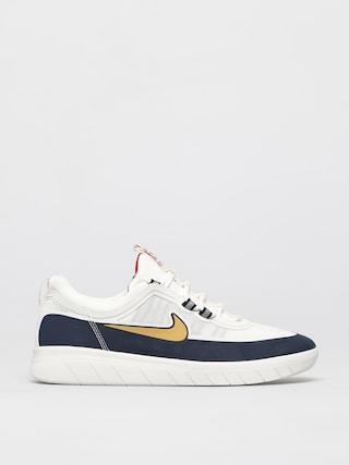 Nike SB Nyjah Free 2 0 Shoes (obsidian/club gold white obsidian)