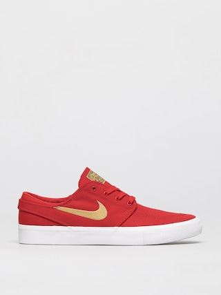 Nike SB Zoom Janoski Canvas Rm Shoes (university red/club gold university red)