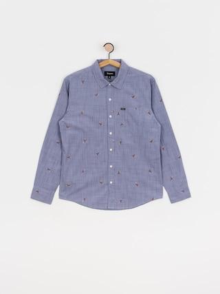 Brixton Charter Print Ls Shirt (twilight blue)