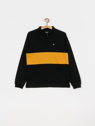 Brixton Hunt Ls Polo t-shirt (black)