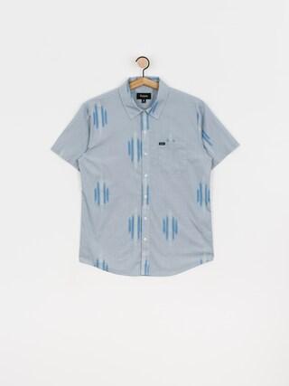 Brixton Charter Print Wvn Shirt (lblwh)