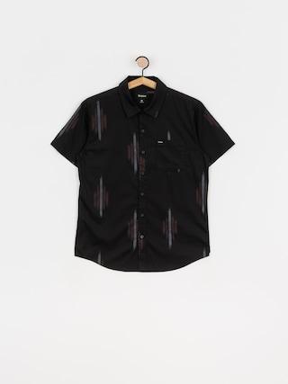 Brixton Charter Print Wvn Shirt (bkred)