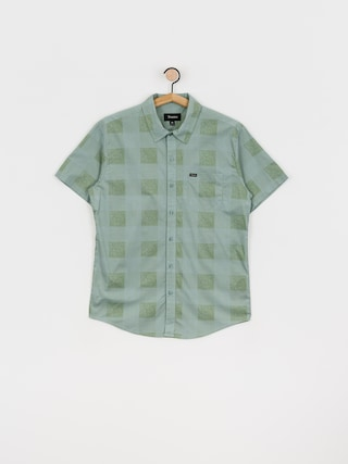 Brixton Charter Plaid Wvn Shirt (leaf)