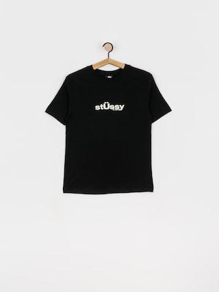 Stussy Big U T-shirt Wmn (black)