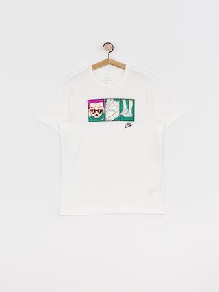 Nike Sportswear Sneaker T-shirt (white/black)