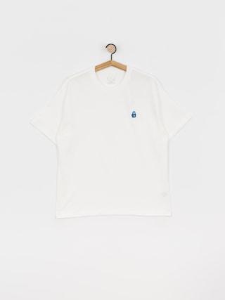 Polar Skate Dane Face T-shirt (white)