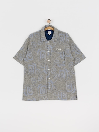 Polar Skate Patterned Shirt (black)