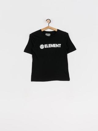 Element Logo Cr T-shirt Wmn (black)