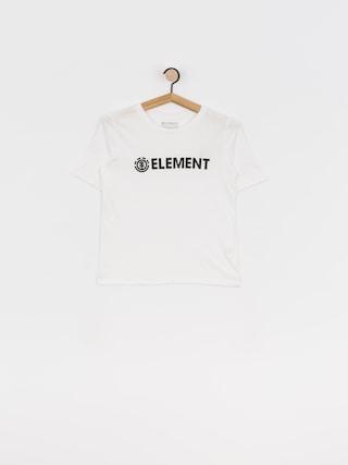 Element Logo Cr T-shirt Wmn (white)
