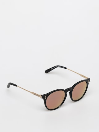 Dragon Hype Sunglasses (matte black/ll rose gold ion)