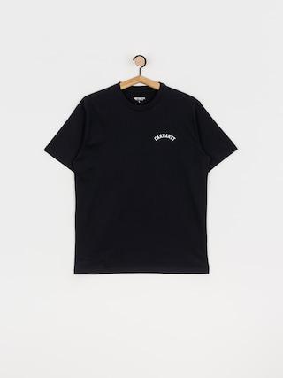 Carhartt WIP University Script T-shirt (dark navy/white)