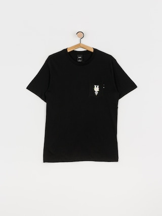 HUF Central Park Pocket T-shirt (black)