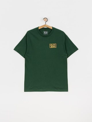 Pass Port Treasury Patch T-shirt (forest green)