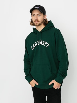 Carhartt WIP University HD Hoodie (bottle green/white)