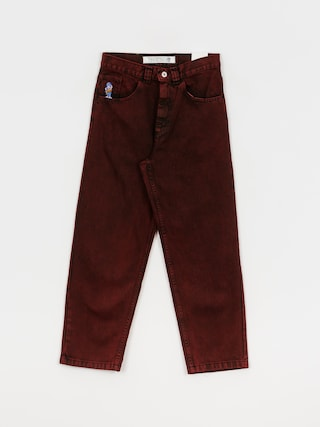 Polar Skate 93 Denim Pants (red black)