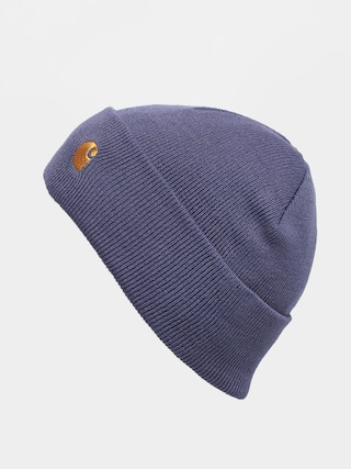 Carhartt WIP Chase Beanie (cold viola/gold)