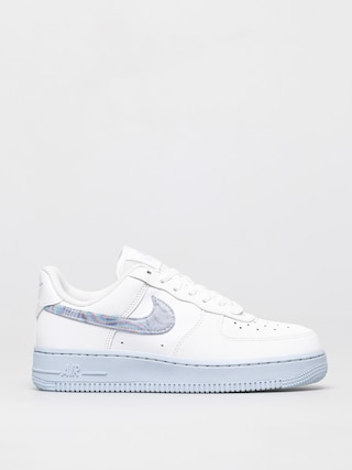 Nike Air Force 1 07 Shoes Wmn (white/hydrogen blue laser blue)