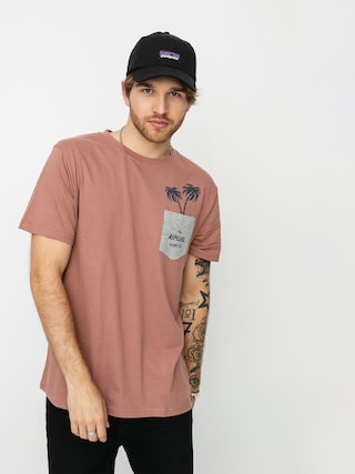 Rip Curl In Da Pocket T-shirt (mushroom)