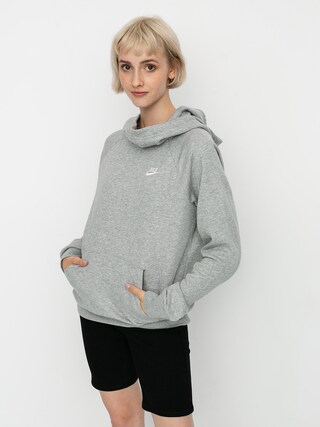 Nike Sportswear Essential HD Hoodie Wmn (grey heather/white)