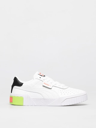 Puma Cali Shoes Wmn (white/ngry peach)