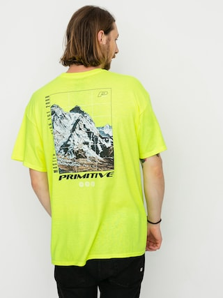 Primitive Summit T-shirt (safty green)