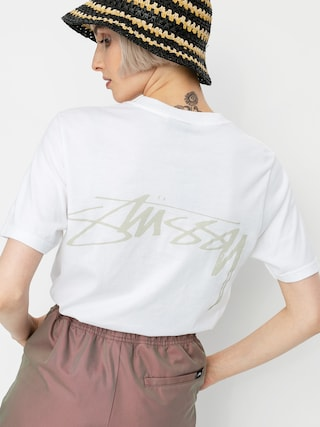Stussy Smooth Stock T-shirt Wmn (white)