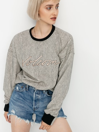 Volcom Allooover Crew Sweatshirt Wmn (stripe)